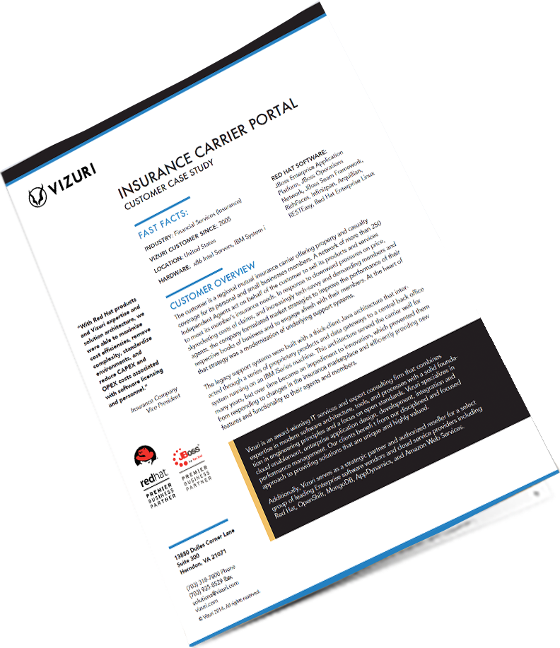 Insurance carrier portal case study icon